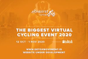 DetoxMovement - FibreFirst Cycling 2020 - The Biggest Virtual Cycling Event 2020