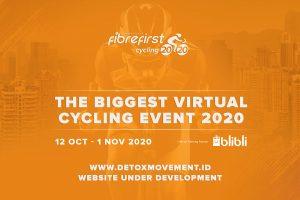 DetoxMovement - FibreFirst Cycling 2020DetoxMovement - FibreFirst Cycling 2020 - The Biggest Virtual Cycling Event 2020